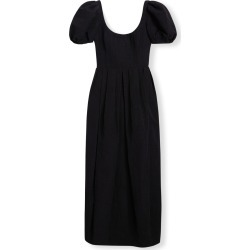 Puff-Sleeve Midi Cocktail Dress found on MODAPINS from neimanmarcus.com for USD $1615.00