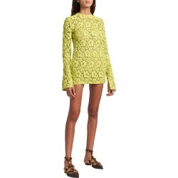 Long-Sleeve Crochet Mini Dress found on MODAPINS from neimanmarcus.com for USD $5200.00