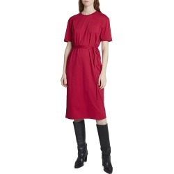 Long Belted T-Shirt Dress found on MODAPINS from neimanmarcus.com for USD $190.00