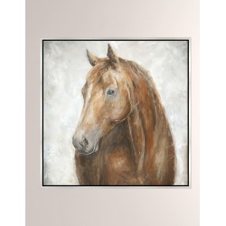 Red Stallion Giclee On Canvas Wall Art With Frame found on Bargain Bro from neimanmarcus.com for USD $440.80