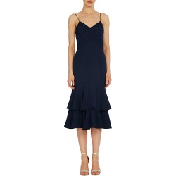 Tiered Crepe Cocktail Dress found on MODAPINS from neimanmarcus.com for USD $445.00