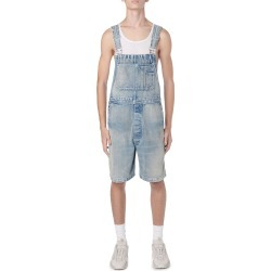 Men's Topstitched Bermuda Denim Overalls found on Bargain Bro India from neimanmarcus.com for $1090.00