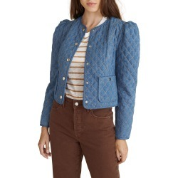 Camilla Quilted Denim Jacket found on MODAPINS from neimanmarcus.com for USD $450.00