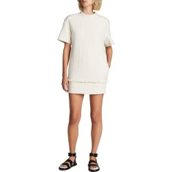 Textured Tweed T-Shirt Dress found on MODAPINS from neimanmarcus.com for USD $450.00