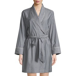 Alix Striped Wool Short Robe found on MODAPINS from neimanmarcus.com for USD $290.00
