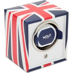 The Special Edition Union Jack Navigator Cub Single Watch Winder found on Bargain Bro Philippines from neimanmarcus.com for $249.00