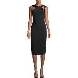 Beaded Double-Strap Bodycon Dress found on MODAPINS from neimanmarcus.com for USD $550.00