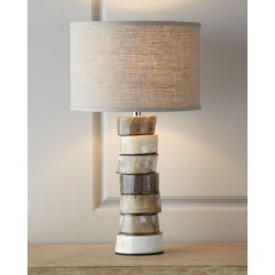 Stacked Horn Table Lamp found on Bargain Bro Philippines from neimanmarcus.com for $960.00