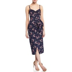 Ivie Sleeveless Wrap Dress found on MODAPINS from neimanmarcus.com for USD $395.00