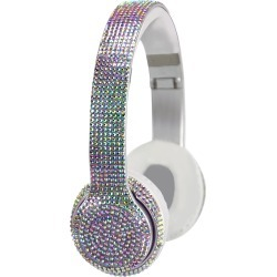 Stereo Bluetooth Iridescent Bling Headphones found on Bargain Bro from neimanmarcus.com for USD $34.20