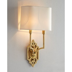 Silhouette Fretwork Sconce found on Bargain Bro from neimanmarcus.com for USD $619.40