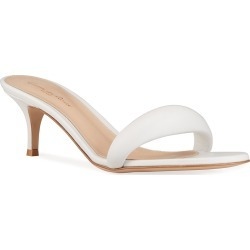 Puffy Kitten-Heel Slide Sandals found on Bargain Bro India from neimanmarcus.com for $695.00