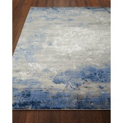 Foggy Night Rug, 8' Round found on Bargain Bro from neimanmarcus.com for USD $1,215.24