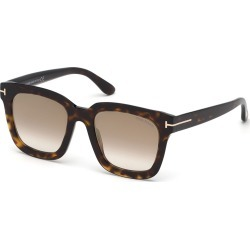 Sari Acetate Square Mirrored Sunglasses