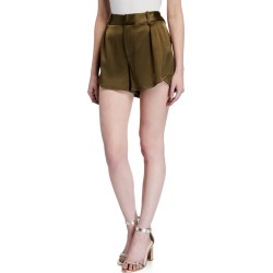 Alden High-Waist Butterfly Shorts found on MODAPINS from neimanmarcus.com for USD $56.00