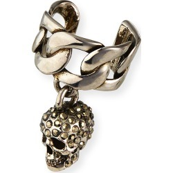 Men's Chain Skull Ear Cuff found on MODAPINS from neimanmarcus.com for USD $240.00