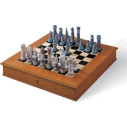 Medieval Chess Set found on Bargain Bro India from neimanmarcus.com for $3300.00
