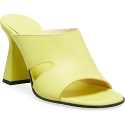 Marie Lambskin Mule Sandals found on Bargain Bro India from neimanmarcus.com for $490.00