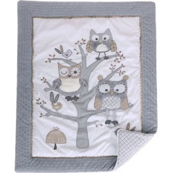 Night Owl 5-Piece Crib Bedding Set found on Bargain Bro India from neimanmarcus.com for $195.00
