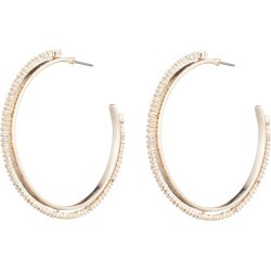 Crystal Encrusted Spiked Hoop Earrings found on Bargain Bro from neimanmarcus.com for USD $148.20
