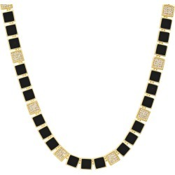 Harmony Black Enamel Collar Necklace found on Bargain Bro Philippines from neimanmarcus.com for $550.00