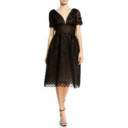 Off-the-Shoulder Tulle Cocktail Dress found on MODAPINS from neimanmarcus.com for USD $1916.00