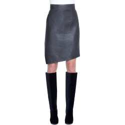 Asymmetric Napa Leather Pencil Skirt found on Bargain Bro Philippines from neimanmarcus.com for $597.00