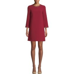 scalloped grommet shift dress found on MODAPINS from neimanmarcus.com for USD $135.00