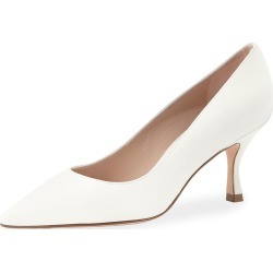 Tippi Leather Mid-Heel Pumps found on MODAPINS from neimanmarcus.com for USD $398.00