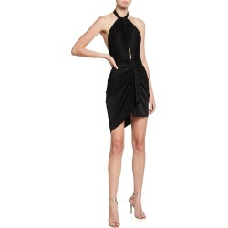 Draped Halter Mini Dress found on MODAPINS from neimanmarcus.com for USD $1760.00