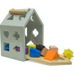 Hip Shape House Wood Sorting Game