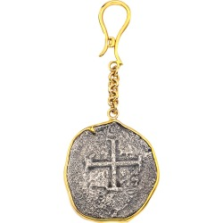 Men's 18k Gold Ancient Coin Key Chain found on Bargain Bro India from neimanmarcus.com for $6396.00