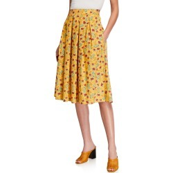 Hope Pleated Cotton Skirt found on MODAPINS from neimanmarcus.com for USD $145.00