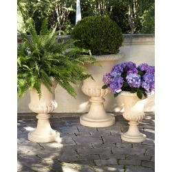 Andros Small Traditional Urn Planter found on Bargain Bro Philippines from neimanmarcus.com for $145.00