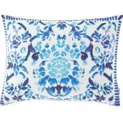 Cellini Decorative Pillow, Cobalt found on Bargain Bro India from neimanmarcus.com for $160.00