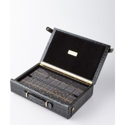 Domino Maxi Set with Croc-Embossed Carry Case found on Bargain Bro India from neimanmarcus.com for $425.00