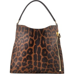 Alix Small Leopard-Print Calf Hair Hobo Bag found on MODAPINS from neimanmarcus.com for USD $3490.00