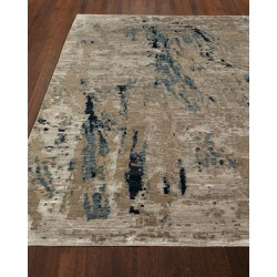 Ursula Hand Knotted Rug, 6' x 9' found on Bargain Bro from neimanmarcus.com for USD $2,279.24