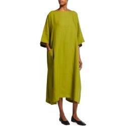 Oversized Linen T-Shirt Dress found on MODAPINS from neimanmarcus.com for USD $690.00