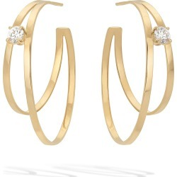 Solo Diamond Double-Hoop Earrings found on Bargain Bro Philippines from neimanmarcus.com for $3490.00