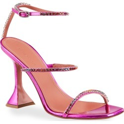 Gilda 95mm Hologram Ankle-Strap Sandals found on MODAPINS from neimanmarcus.com for USD $1035.00