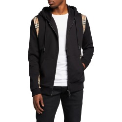 Men's Zip Hoodie with Check Sides found on Bargain Bro India from neimanmarcus.com for $720.00
