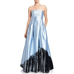 Regina Strapless Gown with Sequin Embellished Skirt found on Bargain Bro India from neimanmarcus.com for $895.00