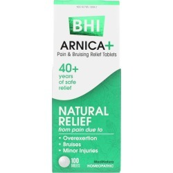 BHI Arnica+ Pain Relief Tablets 100 Tablets