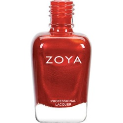 Zoya Nail Polish Red Ember .5 Oz