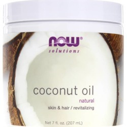 NOW Foods Coconut Oil Natural 7 Oz