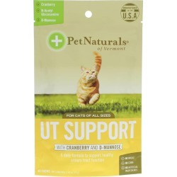 Pet Naturals Of Vermont UT Support Chews for Cats of All Sizes 60 Chewables