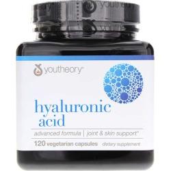 Youtheory Hyaluronic Acid Advanced Formula 120 Tablets