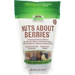 NOW Foods Nuts About Berries 8 Oz