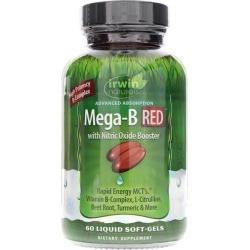Irwin Naturals Mega-B RED 60 Liquid Softgels